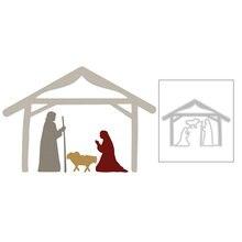 2020 Новый храм дома и Кристиан молитва НАД ИИСУСОМ металлический