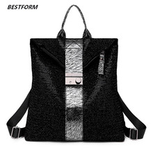 Fashion Women Backpack Shoulder Bag Leather Female Backpack Bags For Women 2019 Schoolbag For Girls Travel Mochila Mujer цена