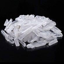 Natural Transparent Pure Lemurian Seed White Quartz Crystal End Bar crystal White Crystal Specimen Healing Energy