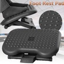 Adjustable Tilting Footrest Under Desk Ergonomic Massager Multifunction Foot Rest Pad Footstool Home