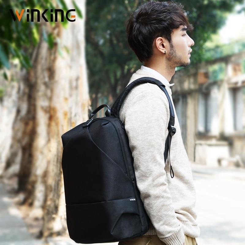 Kingsons Anti Theft Nylon 25L Men 15.6 Inch Laptop Backpacks School Fashion Travel Male Mochilas Feminina Casual Women Schoolbag