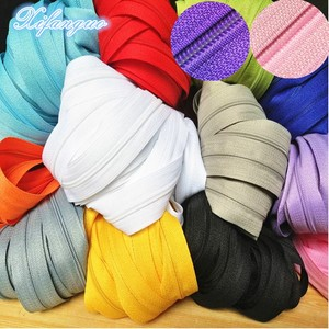 10 meters long 3 # 20 colors nylon coil zipper for DIY sewing clothing accessories