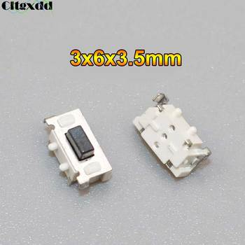 Cltgxdd 1PCS Micro Tact Switch Touch 3*6*3.5 3x6x3.5 SMD For MP3 MP4 Tablet PC Button Bluetooth Headset Remote Control image