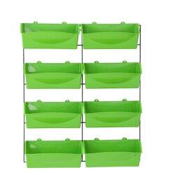 Rack zawieszenie doniczka rosną warzywa pylony ścienne wiszące typ wielokondygnacyjna grupa zamknij prostokąt balustrada roślina artefakt w Półki dla roślin od Meble na