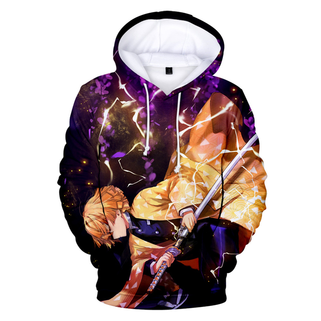 3D Cool New Arrival Demon Slayer Kimetsu no Yaiba hooded Sweatshirt Fashion Trend Style New 3D Cool Women/men Winter Hoodies 2