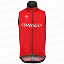 Wilier Cycle Vest Men's bike winddicht wasser abweisend lightweight windproof breathable mesh ciclismo cycling jersey sleeveless