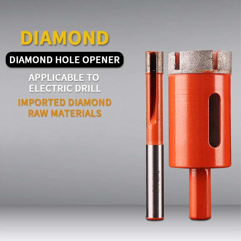 6-100mmDiamond Core Bit Hole Saw Hollow Core Drill Bit For Jewelry Glass Arble Opener Granite Marble Tile Ceramic Concrete Drill