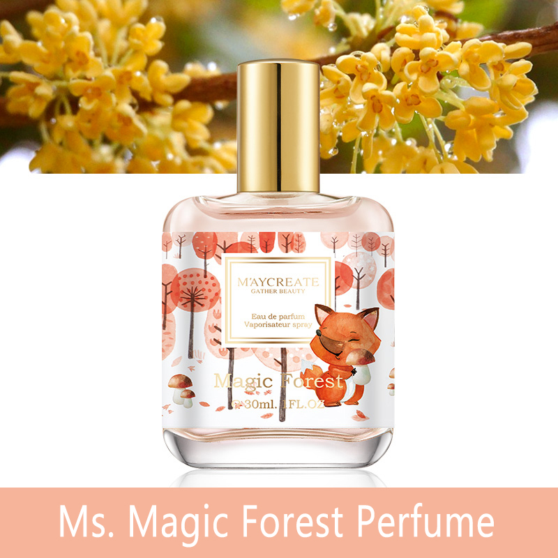 Perfume For Women Atomizer Bottle Glass Long Lasting Elegant Refreshing Flower Fragrance Deodorant Fashion Lady Female Parfum