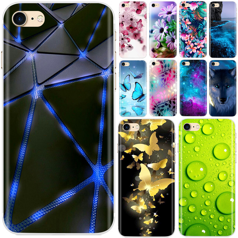 For Fundas iPhone 7 Case Soft Silicone Capas TPU Back Cover Phone Cases For Iphone 7 Plus iPhone7 Case For IPhone 7 Coque Shell