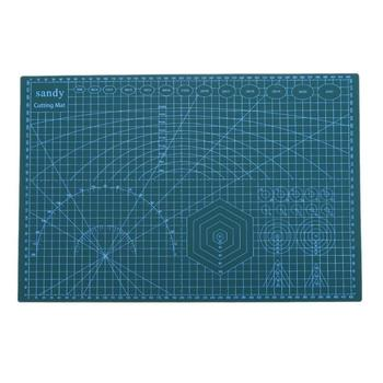 A3 piaszczysta płyta tylna do cięcia ręczna płyta do cięcia średnie ostrze rzeźba płyta tylna średnia płyta 45*30cm średnia płyta tanie i dobre opinie Cutting Board 450*300mm 17 72*11 81 Green