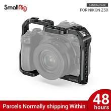 SmallRig Z50 Kamera Käfig für Nikon Z50 Kamera W/Kalten Schuh Montieren Nato Schiene Für Monitor Mikrofon DIY Optionen 2499