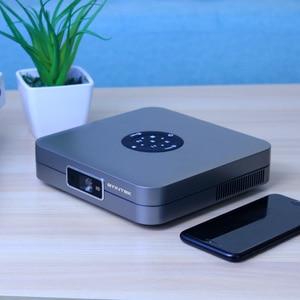 Image 2 - BYINTEK U20 Full HD 1080P 3D 4K Android Smart Wifi Portable Mini LED DLP Projector Beamer for Smartphone