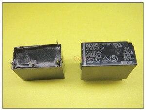 Image 1 - Gratis Verzending Lot (10 Stuks/partij) 100% Originele Nieuwe JQ1A 24V F AJQ3342F JQ1A 24V AJQ3342 5A250V 4Pins 24VDC DC24V 24V Power Relais