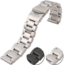 For PAM Diesel Watch Band 22mm 24mm 26mm black silver high q