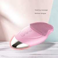 Silicone Face Cleansing Brush Electric Facial Cleanser Cleansing Skin Deep Washing Massage Brush 5