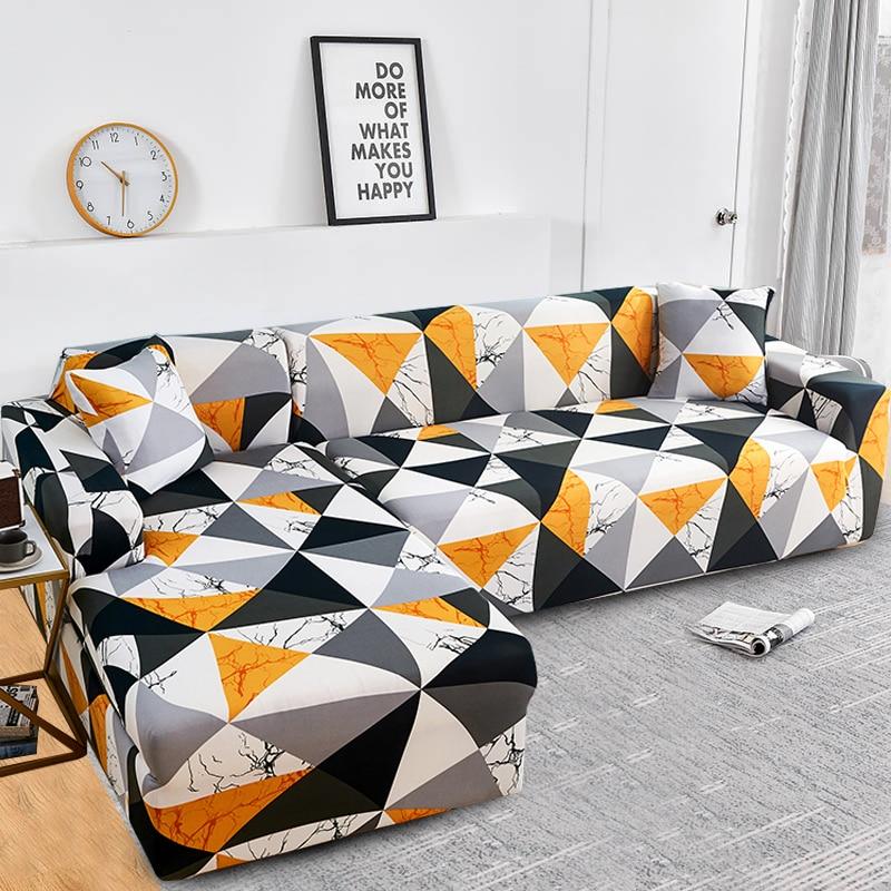 Купить накидки для углового дивана l образной формы эластичные секционные