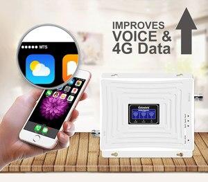 Image 3 - Lintratek amplificador de señal de móvil, 900mhz, 1800mhz, 2100mhz, gsm 2g, 3g, 4g, dcs, wcdma, lte, conjunto de amplificador de tres bandas