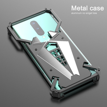 Luxury Shockproof Aluminum Metal Armor Ring Case For