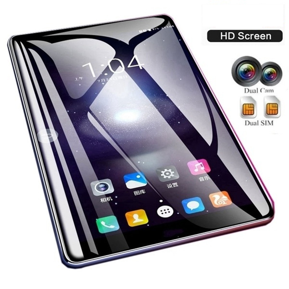 New Years Gift New WiFi Tablet PC 10.1 Inch Ten Core 4G Network Android 7.1 Arge 2560*1600 IPS Screen Dual SIM Dual Camera Rear
