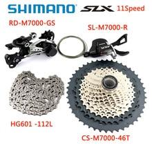 SHIMANO 2020 NEUE M5100 SLX M7000 Groupset 1x11 Geschwindigkeit Mountainbike Enthält Schalthebel Hinten Dearilleur Kassette Kette 11 S