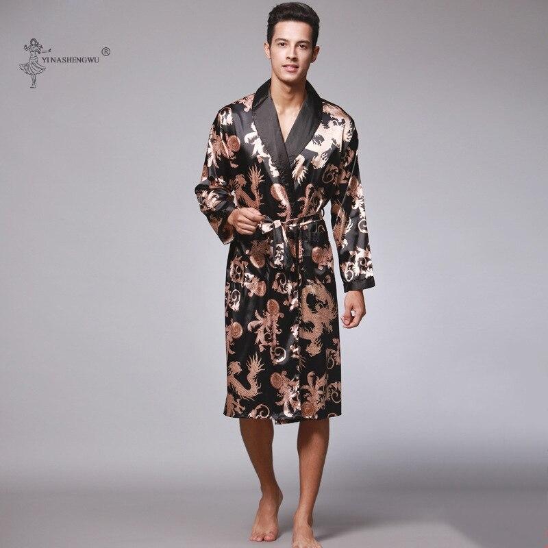 Couple Yukata Cardigan Men Japanese Kimono Dragon Bathrobe Male Haori Pajamas Harajuku Coat Sets Sleepwear Blouse Robes Costumes