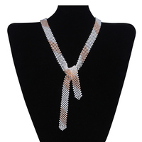 Fashion Japan small freshwater pearl design necklace