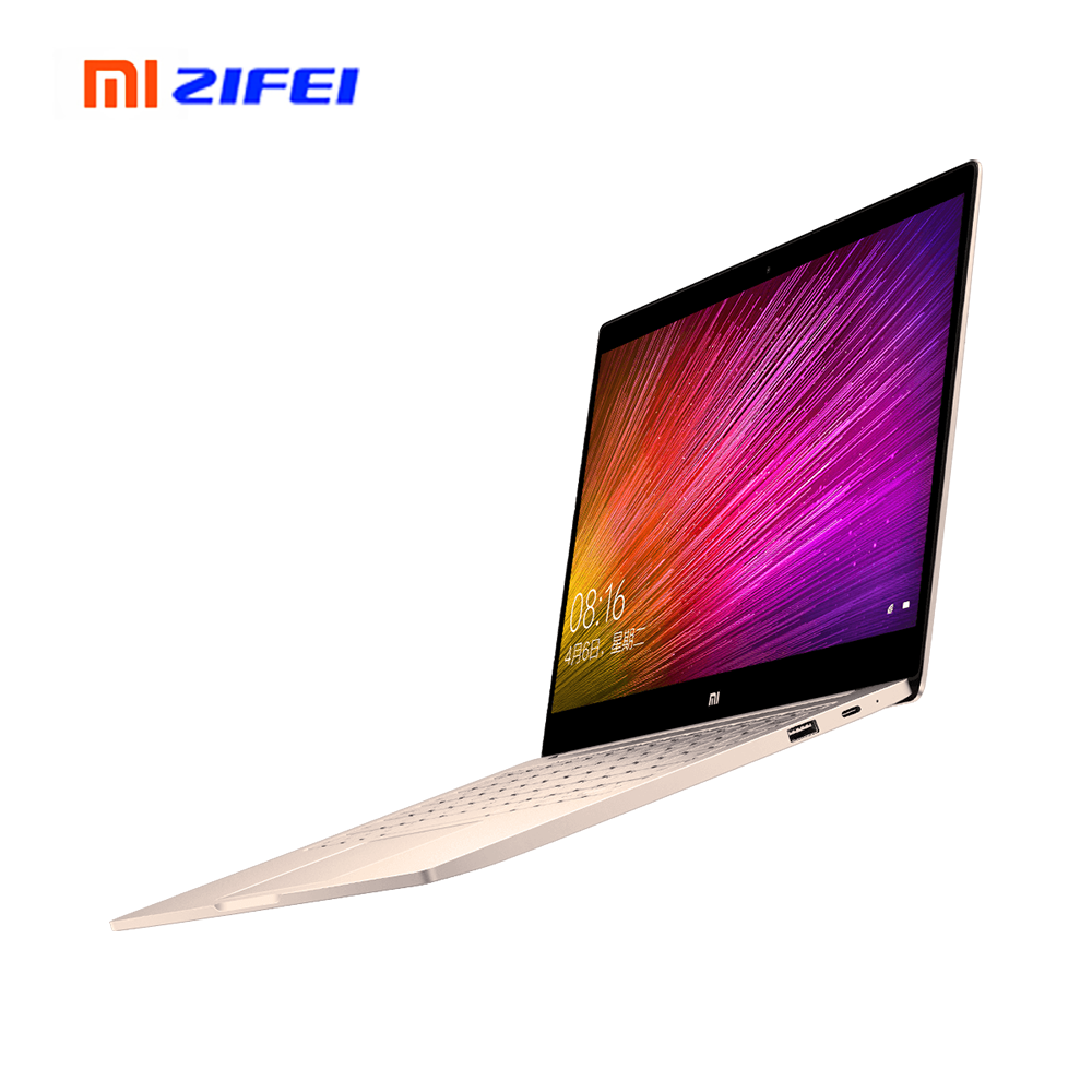 New Mi Notebook Air 12.5 Inch Touch Screen Intel Core I5/m3-8100Y 4GB RAM 256GB ROM Ultra Slim Full Meatal Body Xiaomi Laptop