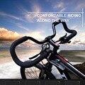 Велосипед бабочка Грипсы для велосипеда алюминиевый сплав путешествия MTB Горная дорога велосипед Грипсы для велосипеда Велоспорт Руль в фо...
