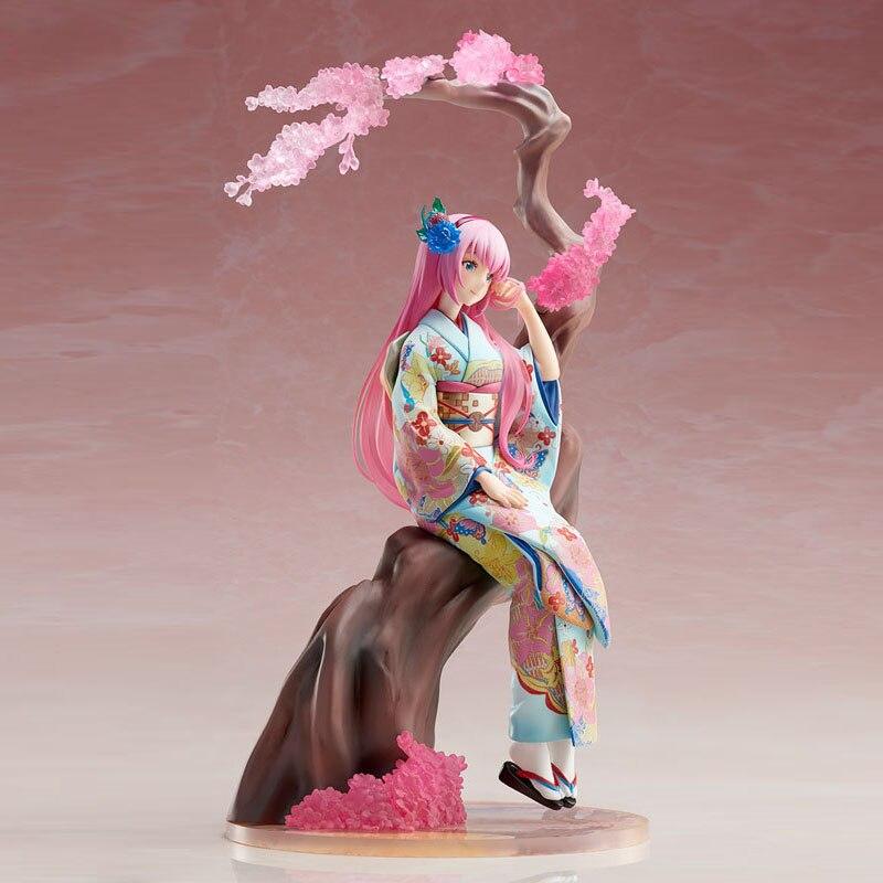 Аниме экшн Фигурки игрушки хатсун ПВХ аниме модель 25,5 см красивая игрушка для девочек фигурки героев куклы японское кимоно подарок Мику Игровые фигурки и трансформеры    АлиЭкспресс