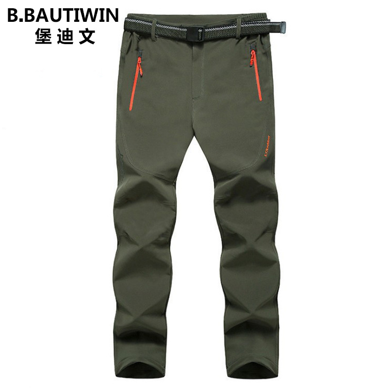 And Lard-bucket Special Body Large Size Spring And Summer Autumn New Thin Men's Outdoor Sports Mountain Climbing Trousers Pants