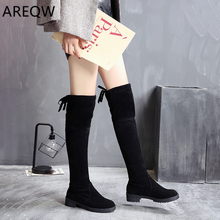 2019 New Winter Models Snow Boots Women Over The Knee Shoes