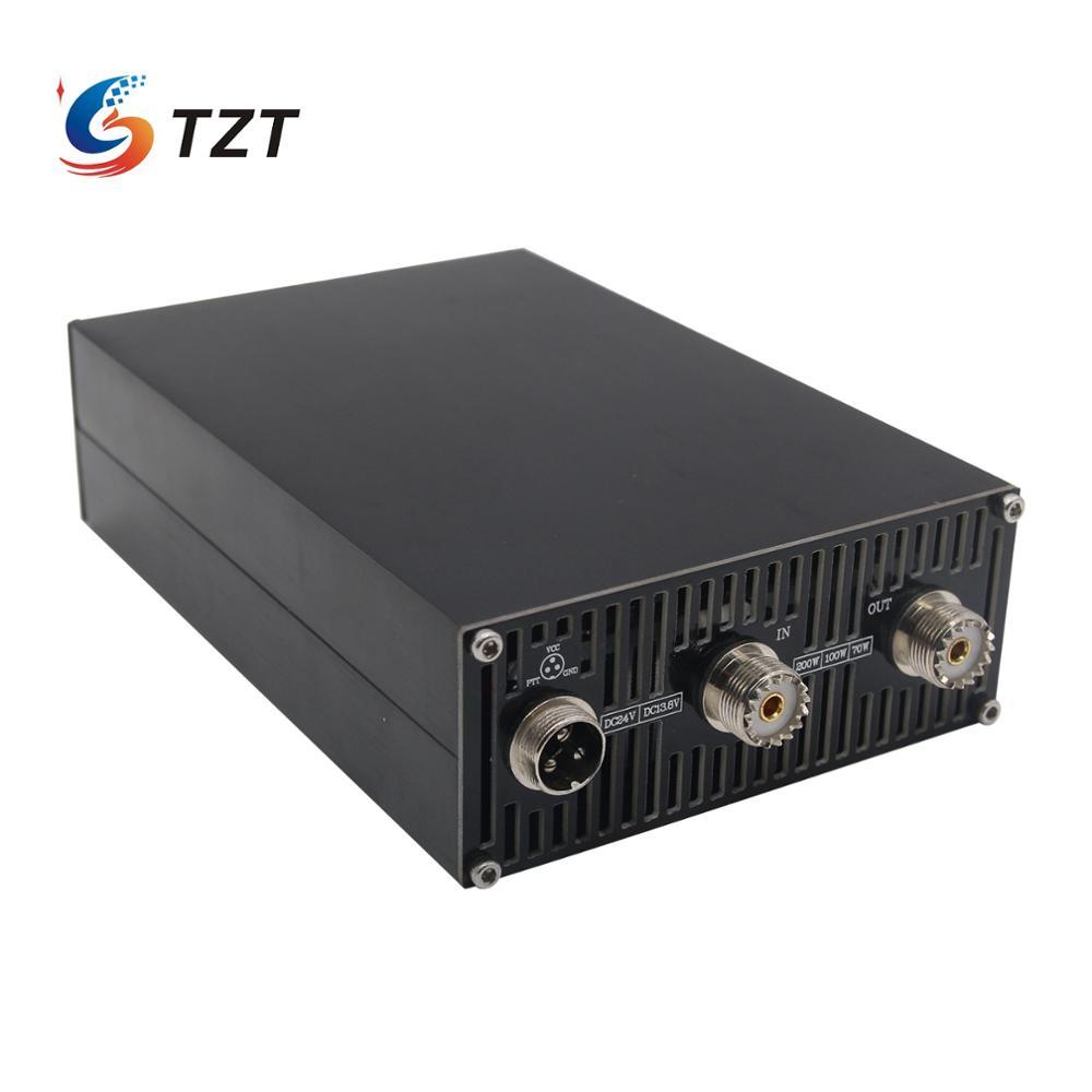 TZT MINIPA200 200W HF Power Amplifier Shortwave Power Amplifier For Ham Radio FT-817 ICOM IC-703 Elecraft KX3 QRP PTT Control