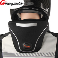 Motorcycle Neck Guard Biker Neck Brace Protector Reflective Moto Off Road Helmet Support Head Protective Gear Accessories HX P24