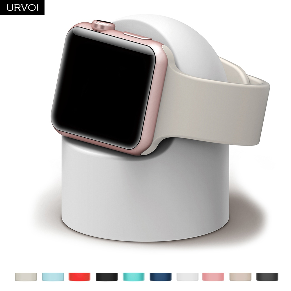 URVOI Nightstand Watch-Series Keeper Apple Modern-Design for 54321-stand/Watchos/Nightstand/.. title=