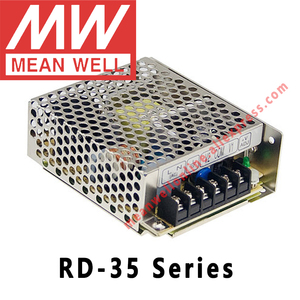 Image 1 - さて RD 35A 35B 3513 スイッチング電源 meanwell AC/DC 35 ワットデュアル出力