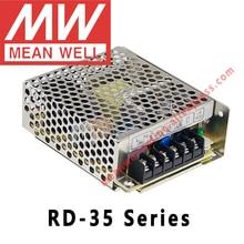 מתכוון גם RD 35A 35B 3513 מיתוג אספקת חשמל meanwell AC/DC 35W תפוקה כפולה