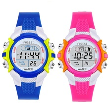 Children's Watch Multi-function Colorful Luminous Alarm Waterproof Student Sports Electronic