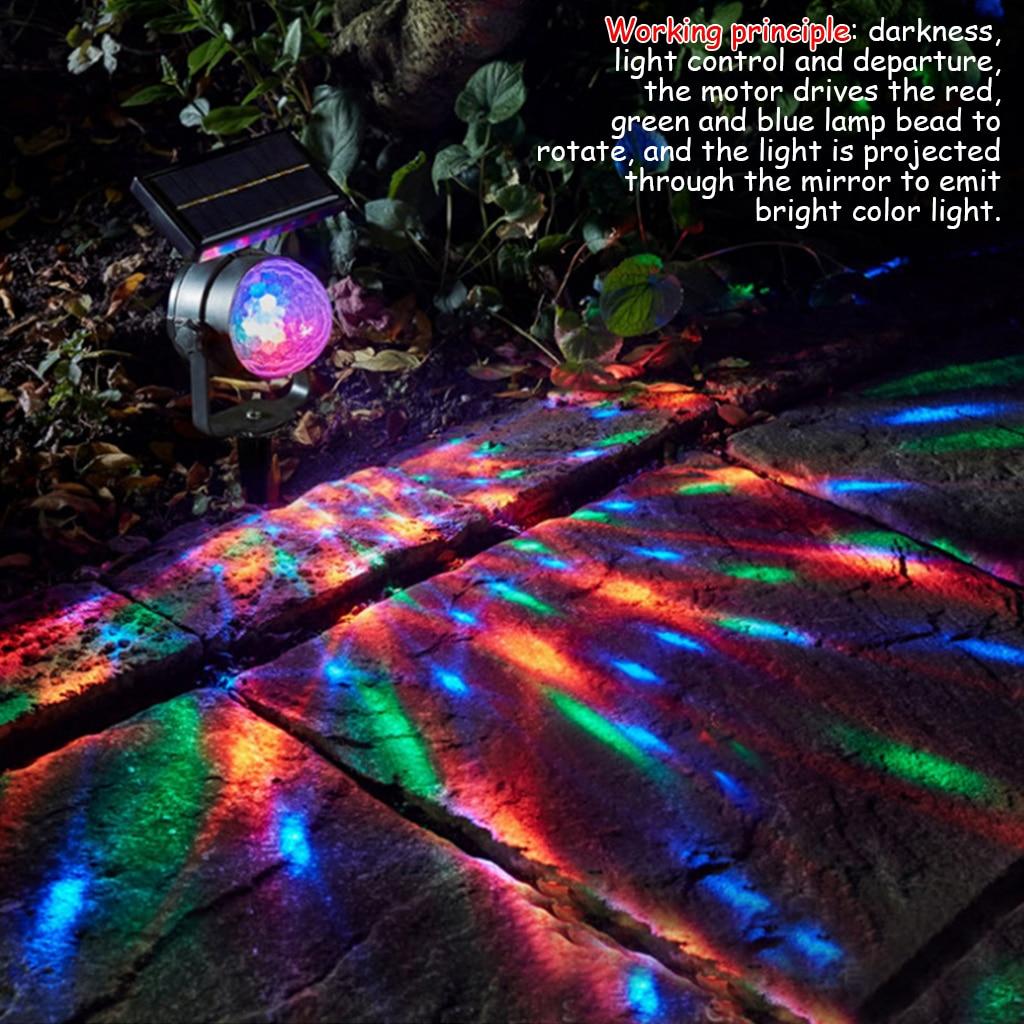 luzes do projetor solar luzes led solar 02