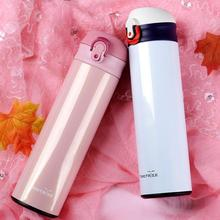 Stainless Steel Vacuum Flasks Portable Thermoses Unisex Bottle Travel Mug Water Thermo Cup Drinkware Accessories