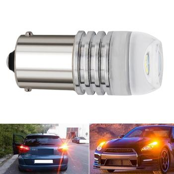 1pcs Motorcycle Flashing LED Turn Signal 1156/1157 Motorcycle Concave 3smd Lens Light 5730 Accessories 5630 Car Reversing B E0Z8 image