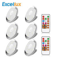 LED Under Cabinet Light For Kitchen Led Closet Light Remote control Dimmer Battery Powered For Wardrobe Cabinet Night light