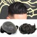Cutestyle, мужские искусственные волосы, мужские волосы, заменяемые Мужские t-волосы, система 1B65, цвет человеческие волосы, мужской парик