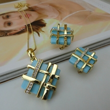 Yuminglai Dubai Costume Jewelry Fine Jewelry Pendant Sets FHK8729