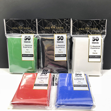66x91mm 100pcs/lot color Matt Board Games Cards Sleeves protector for magical game the gathering card shield TCG collectioncards 50pages 2 sides 9 pockets 18pockets page board game cards page trading card protector for magical the gathering star cards pages