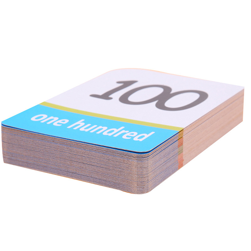 Montessori Materials Card Books 0-100 Numbers Cognitive Cards A-Z Alphabet English Flash Card Math Books Child Educational Toys