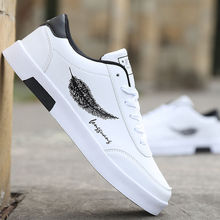 2021 Men Casual Shoes Breathable Male Tenis Outdoor Flats Shoes Sneakers Masculino feather Print Shoes Zapatos Hombre Sapatos