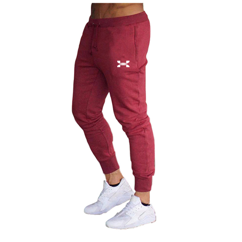 Jogger Brand Cotton Casual Pants Harem Gyms Male Trousers Mens Joggers Solid Sweatpants Stretch Feet Sports Fitness Men Pants