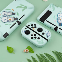 For Nintend Switch Lite Game Console Back Cover Case Cute Shiba Inu Sea Otter Protective Shell for Nintendo Switch Accessories