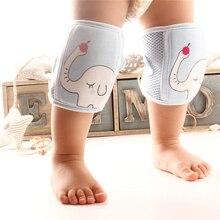 Детские наколенники, защитные гетры для новорожденных, теплые наколенники для ползания, мягкие уплотненные Нескользящие защитные наколенники для ползания