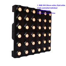 2019 most popular stage lighting led square matrix beam 6x6 for concert disco bar